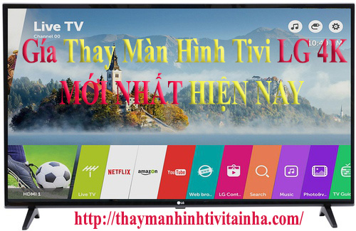 giá thay màn hình tivi lg 43inch tại nhà